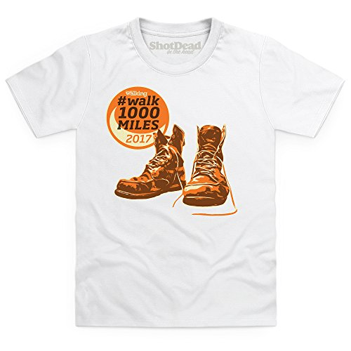 Kids Tees Walk 1000 Miles 2017 Boots Kid's T Shirt, Kid's