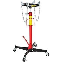 TecTake Vérin de fosse hydraulique en acier - jusqu'à 500 kg | haute qualité - poids : 38 kg