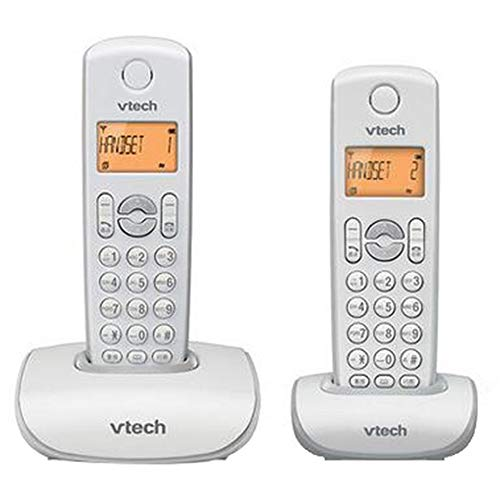 YDS SHOP Retro Handy Wireless Home Phone mit Anrufbeantworter, Big Button Advanced Call, Office Business Festnetz (Color : White gray2)