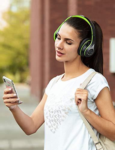 Mpow Bluetooth Kopfhörer Over Ear, [Bis zu 20 Std] Kabellose Kopfhoerer mit Hi-Fi Stereo mit Dual 40mm Treiber, CVC 6.0 Noise Canceling für Integriertem Mikrofon Freisprechen - 7