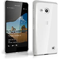 igadgitz U4197 Funda de poliuretano termoplástico para Microsoft Lumia 550 con protector de pantalla, rosa