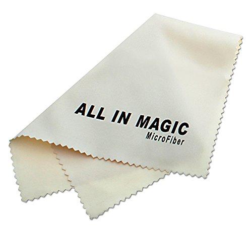 L'Originale All In Magic®, Chiffon MicroFibre de nettoyage Haut de Gamme - Pour Écran, Téléphone Portable, Optique, Objectifs photo, Lunettes, Tablettes, Ordinateurs Portables, Écrans TV et Toutes Autres Surfaces Délicates(Couleur Sable 15 cm x 18 cm)