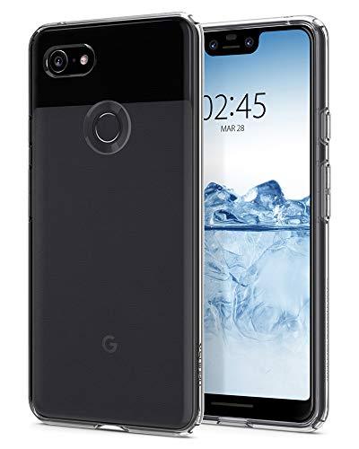 Spigen Liquid Crystal, Google Pixel 3 XL Hülle, F20CS25022 Transparent TPU Silikon Handyhülle Ultra dünn Durchsichtige Schutzhülle Flex Case (Crystal Clear)