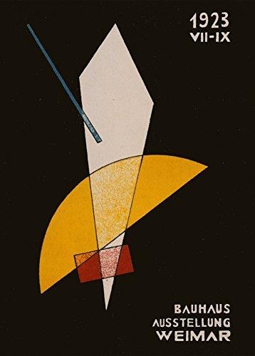 László Moholy-Nagy 'Karte für Bauhaus-Ausstellung' 1923. 250 g/m², glänzend, Kunstdruck, A3,...