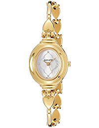 Sonata Analog Champagne Dial Women's Watch -NK8092YM03