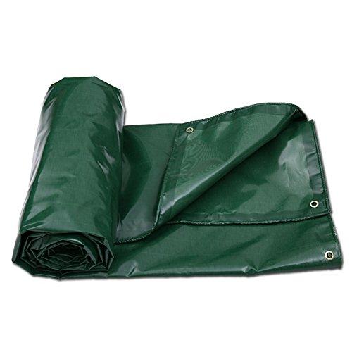 Tela cerata impermeabile anti-corrosione resistente al calore tela autoportante ignifuga camion telone impermeabile tela cerata (colore : green, dimensioni : 7x5m)