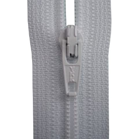 Estremità chiusa cerniera YKK, colore: bianco–Cuscino/Gonna/vestito/pantaloni–Cucito e arte e cerniera,