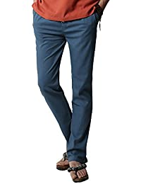 Amazon.es  pantalon lino hombre - 4108417031  Ropa ea408776e97c3
