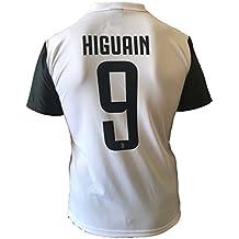 Camiseta Jersey Futbol Juventus Gonzalo Higuain 9 Replica Autorizado 2017-2018 Niños Adultos (Talla