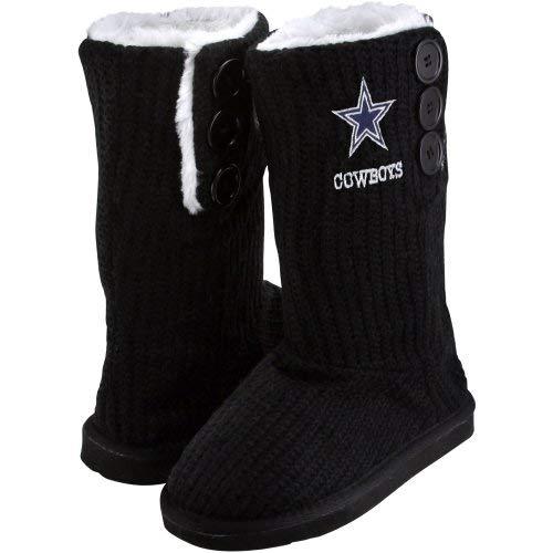 FOCO Dallas Cowboys Knit High End Button Stiefel Slipper groß