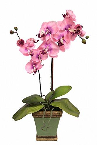 Flair Flower Phalaenopsis im Topf, Stoff, rosa, 58 x 20 x 12 cm
