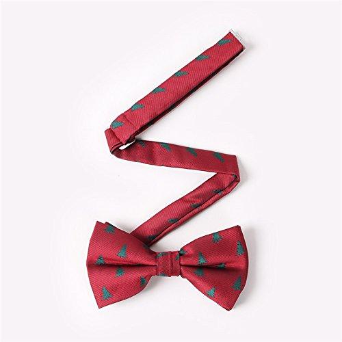 Doitsa Pajarita Hombre Moda Boda ajustable del smoking corbata Pajarita de navidad Árbol de navidad Copo de nieve Ocio disponible en… oZIooJP