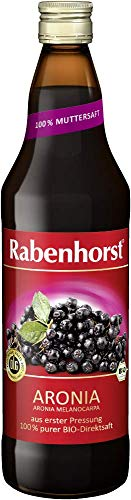 Rabenhorst Bio Aronia Muttersaft, 6er Pack (6 x 0.7 l)