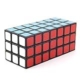 Ysss Cubo Rubik Cubo Negro Tres Tres Siete Estéreo Cubo Juguetes Rompecabezas En Forma De Rubikcube