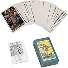 Dewin Cartas del Tarot: mazo de Cartas de Jinete Rite Waite, Juego de Cartas