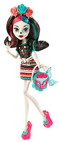 Scaritage Skelita Calaveras Puppe und Fashion Set (Monster High Skelita Puppe)
