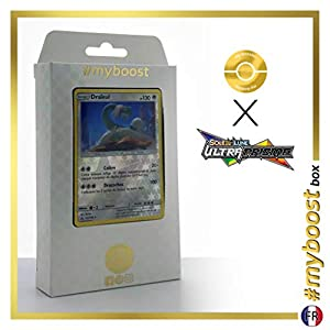 Draïeul (Drampa) 117/156 Holo Reverse - #myboost X Soleil & Lune 5 Ultra-Prisme - Box de 10 Cartas Pokémon Francés