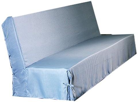 HomeMaison.com HM69453759 Housse de Clic-Clac Moderne Piqué Polyester Gris 200 x 140 cm