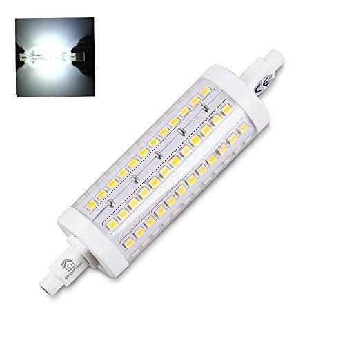 brightinwd R7S LED 118mm regulable 10W reemplazar halógena Bombilla Lámpara Blanco Frío...