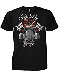 Rock Style Pin Up Garage - American Muscle Car 701478 T-Shirt
