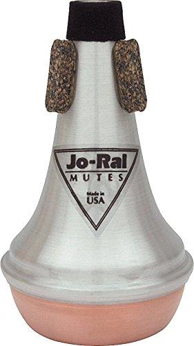 Jo-Ral TPT-5C - Sordina recta para trompeta piccolo de aluminio y cobre