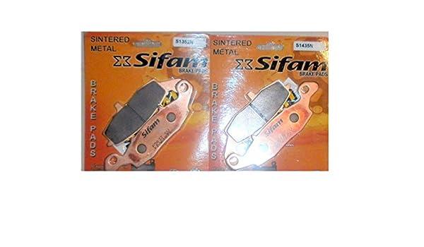 SUZUKI GSF 600-650 BANDIT-00//06-GSX 750 INAZUMA-98//02-PAIRE PLAQUETTES DE FREIN AVANT D ET G-S1435//S1352