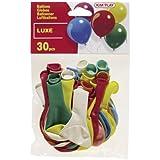 Cofalu Kim'Play - Set de 30 globos, colores surtidos