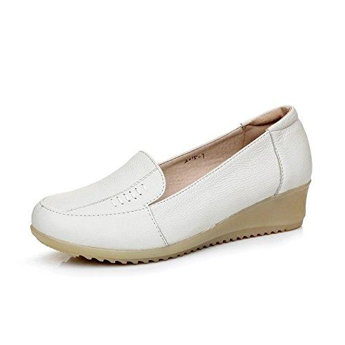 Portefeulilles en cuir pour chaussures/Cintre pour un confortable chaussures occasionnelles/Boeuf tendon infirmiers confortables chaussures à la fin de A