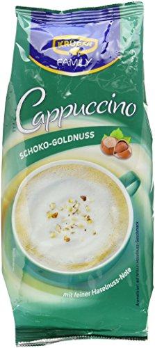 KRÜGER Family Cappuccino Schoko Goldnuss, 4er Pack (4 x 0.5 kg)