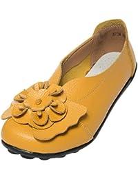 Zapatos de Vestir de Cuero Plano Chic para Mujer Otoño 2018 Moda PAOLIAN Zapatos Señora Suela