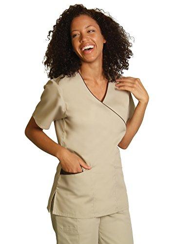 en Frauen Top Krankenschwester Krankenhaus Berufskleidung 608 Farbe: KK/BR | Größe: S (Brs Kostüm)