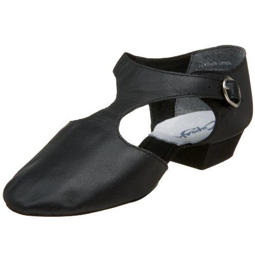 Capezio Griechische Sandale Leder Pedini 321 schwarz Tanzschuhe, schwarz Leder, 36.5 EU
