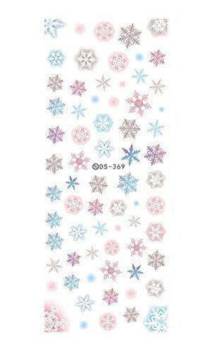 Décorations à ongles Décorations à eau Nail Art Stickers, 5 feuilles