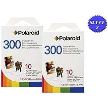 2unidades de Polaroid PIF-300película instantánea para cámaras de la serie 300+ Smart Shop UK Micro gamuza de cable de