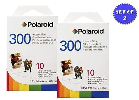 Polaroid PIF-300 Lot de 2 cartouches Polaroid pour appareil photo