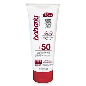 Babaria Crema Facial Solar BB Rosa Mosqueta – 75 ml