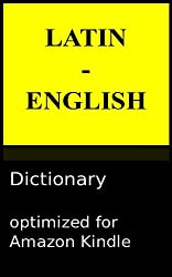 Latin - English Reader's Dictionary (English Edition)