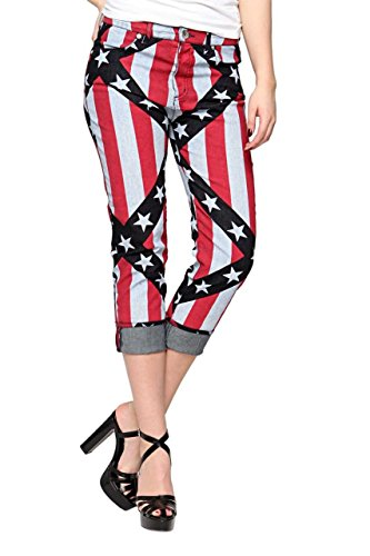 Love Moschino Jeans tretti , donna, Colore: Colorato, Taglia: 30