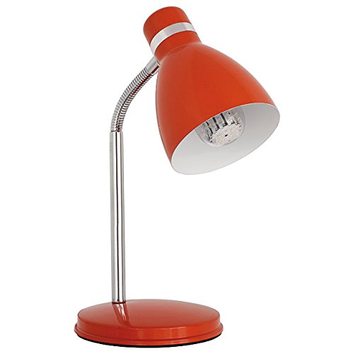 Kanlux lámpara de mesa E14roja Zara hr-40-or