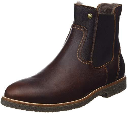 Panama Jack Herren Garnock Igloo Chelsea Boots, Braun (Castaño C3), 42 EU - Gefängnis Schuhe