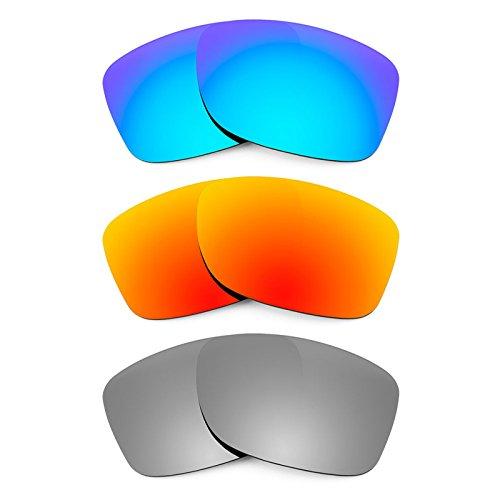 Revant Ersatzlinsen für Oakley Jupiter Carbon Polarisiert 3 Paar Kombipack K014