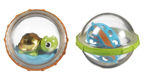 Munchkin Float and Play Bubbles (Assortedcolors, Pack of 2)