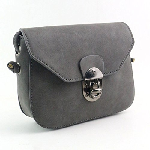 Koly_Le donne della borsa di modo Tracolla Large Tote (Grigio)