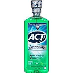 ACT Mint Anticavity Flouride Mouthwash, 18 oz