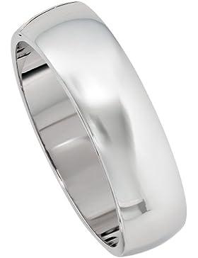 JOBO Armreif oval 925 Sterling Silber rhodiniert