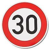 Gentle North 30 Schild Geburtstag für Frauen und Männer - Deko Geschenke Schild zum 30 Geburtstag - 21x21 cm (rund) Kunststoff