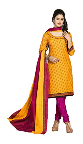 de7444872207e Shree Ganesh Retail Womens Printed Churidar Material | Salwar Suit ...