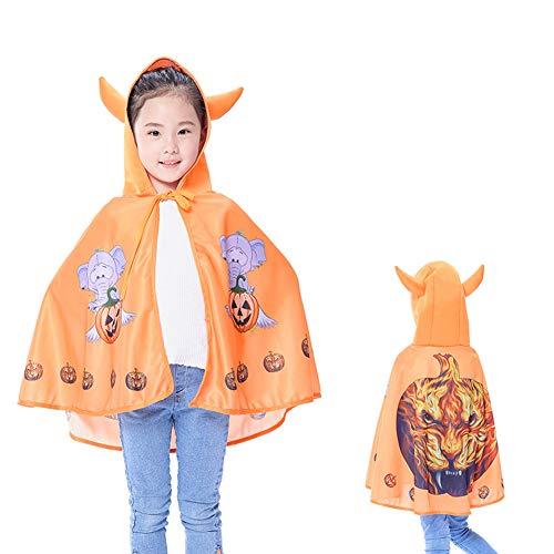 Hexe Niedliche Kleine Kostüm Kleinkind - Shiming Kinderumhang für Halloween, Kinder Cosplay Kostüm