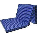 Brownie Folding Mattress (3 Folding,Multicolor,SIZE-72X35X2 INCH,