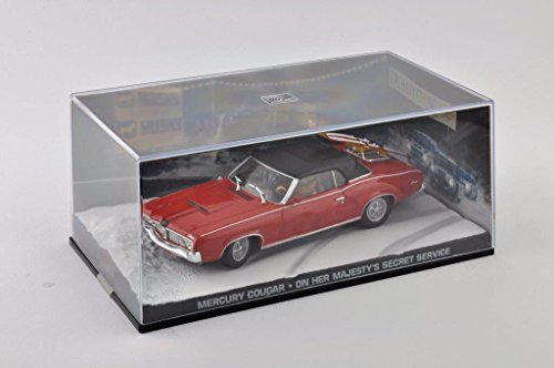 Preisvergleich Produktbild Metal Modellauto 1:43 Diorama Mercury Cougar James Bond 007 on her majestys secret service